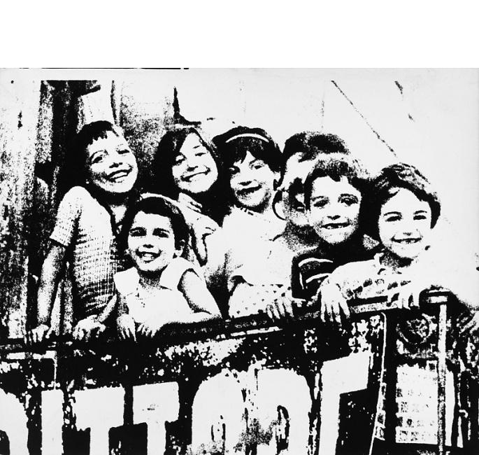 04 Pino Pascali / Bambini, 1965 stampa fotografica ai sali d'argento su carta / gelatin silver print on paper 24x30 cm / Courtesy Fondazione Pino Pascali