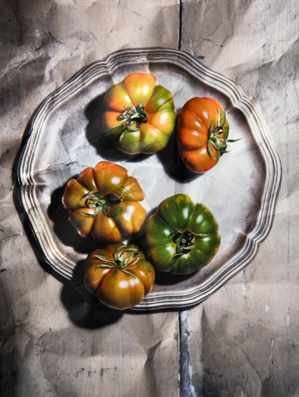 Ritratto di pomodori (Portrait of tomatoes) - 2018