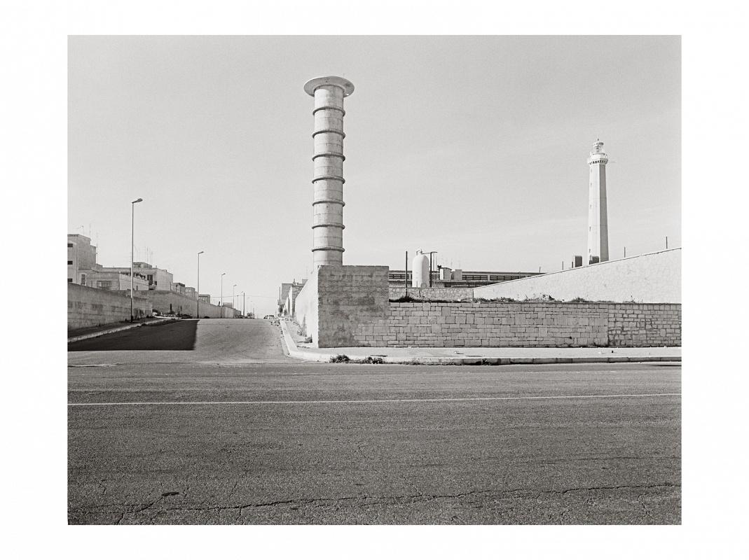 Bari San Cataldo, 1983 Fotografia B/N inkjet su carta cotone fine art