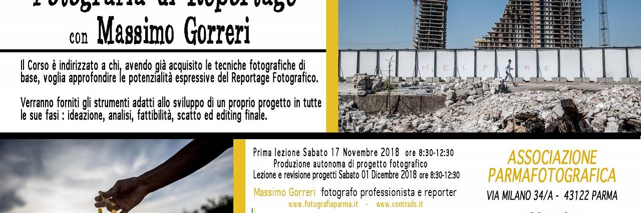 CORSO AVANZATO FOTOGRAFIA DI REPORTAGE