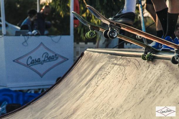 The Bear Battle : mini-ramp skate contest & Live Music