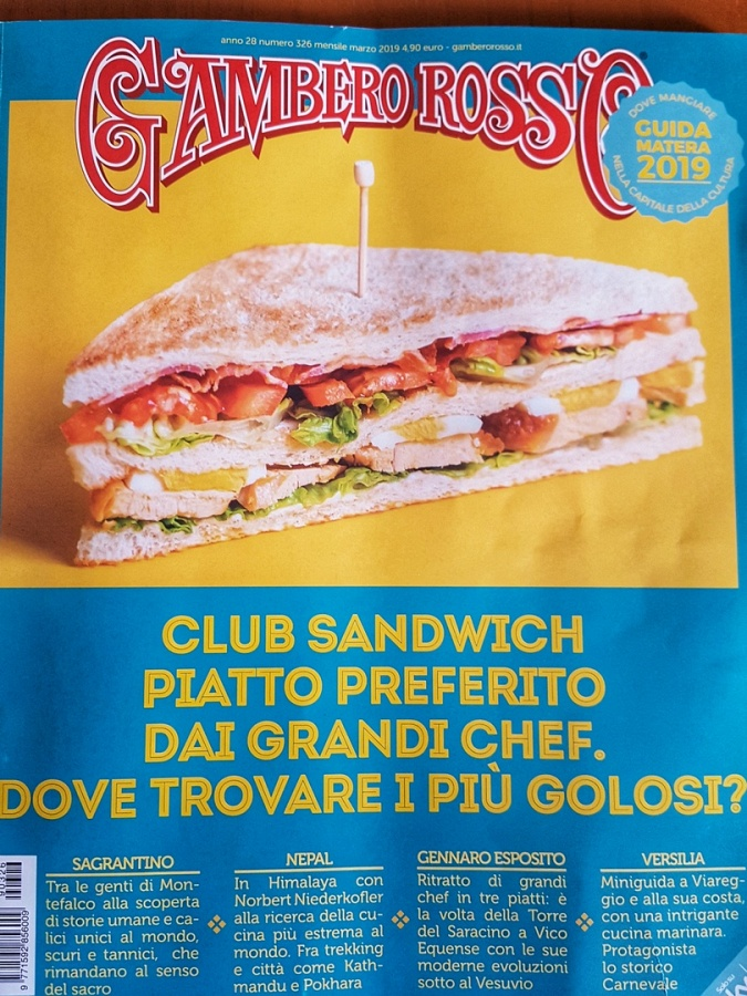 Il pane di Matera   per la rivista Gambero Rosso
